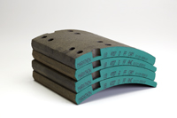 New UB Brake Lining Part Numbers